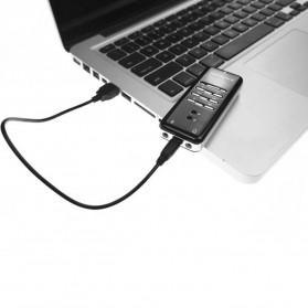 YUNCLOUD HiFi Magic Voice External USB Sound Card Virtual 3D 8.1 Channel C-Mcdia - PC7871 - Black - 3