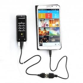 YUNCLOUD HiFi Magic Voice External USB Sound Card Virtual 3D 8.1 Channel C-Mcdia - PC7871 - Black - 5