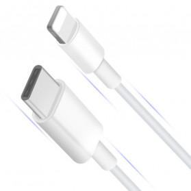 Amoner Kabel Charger USB Type C to Lightning Fast Charging 18W - CTLN - Black - 1