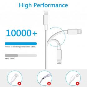Amoner Kabel Charger USB Type C to Lightning Fast Charging 18W - CTLN - Black - 4
