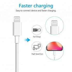 Amoner Kabel Charger USB Type C to Lightning Fast Charging 18W - CTLN - Black - 6