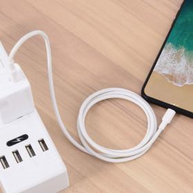 Amoner Kabel Charger USB Type C to Lightning Fast Charging 18W - CTLN - White - 7
