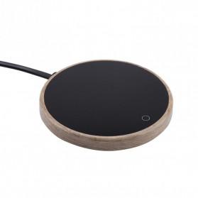 VGEBY Tatakan Gelas Pemanas Coffee Cup Warmer Heating Pad - VG15 - Black