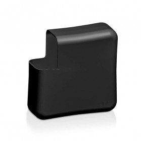 JRC Ultra Thin Silicone Cover Magsafe Charger Case for Macbook Air 13 Inch 45W - KF01 - Black - 5