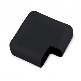 JRC Ultra Thin Silicone Cover Magsafe Charger Case for Macbook Air 13 Inch 45W - KF01 - Black - 7