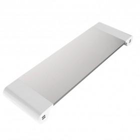 Besegad Meja Monitor Stand Aluminium with 4 USB Port - LP-CA033 - Silver - 2