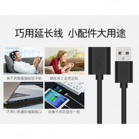 IOGEAR Kabel USB 3.0 Ekstension Male to Female 1 Meter - US208 - Black - 3