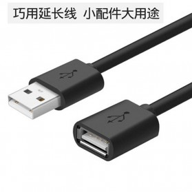 IOGEAR Kabel USB 3.0 Ekstension Male to Female 1 Meter - US208 - Black - 4