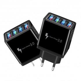 XEDAIN Travel Charger USB Fast Charging 4 Port QC3.0 - 430 - Black - 3