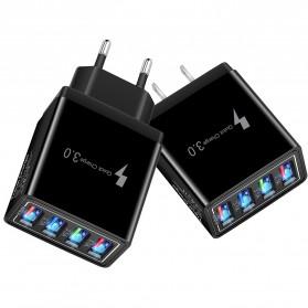 XEDAIN Travel Charger USB Fast Charging 4 Port QC3.0 - 430 - Black - 4