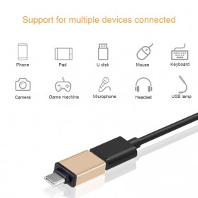 External USB Cable Sound Card 7.1 Channel + USB Type C to USB 3.1 OTG - Silver - 6
