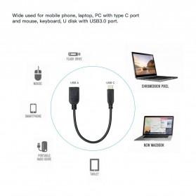 Dodocool Kabel OTG USB Type C 3.1 Data Cable Adapter 15 CM - DO-5 - Black - 4