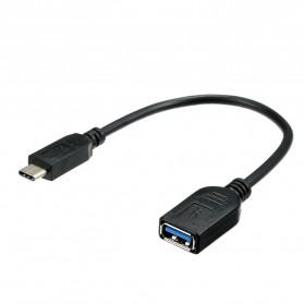 Dodocool Kabel OTG USB Type C 3.1 Data Cable Adapter 15 CM - DO-5 - Black - 6
