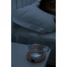 Faroot Tatakan Gelas Pemanas Coffee Cup Warmer Heating Pad Coaster - 353-B - Pink - 11