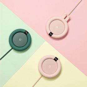 Faroot Tatakan Gelas Pemanas Coffee Cup Warmer Heating Pad Coaster - 353-B - Pink - 5