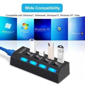 EASYIDEA USB Hub 3.0 4 Port with Power Supply - U9103 - Black - 7