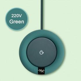 Luckima Tatakan Gelas Pemanas Coffee Cup Warmer Heating Pad 20W - LC353 - Green