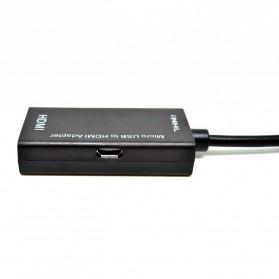 Adapter Micro USB ke HDMI - MHL01 - Black - 4