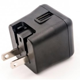 Ktec Travel Charger USB Port 3A EU US UK - P4716 - Black - 2