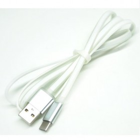 Noosy Noodle Line USB 3.1 Type C to USB 3.0 Male Cable - 1 Meter - White
