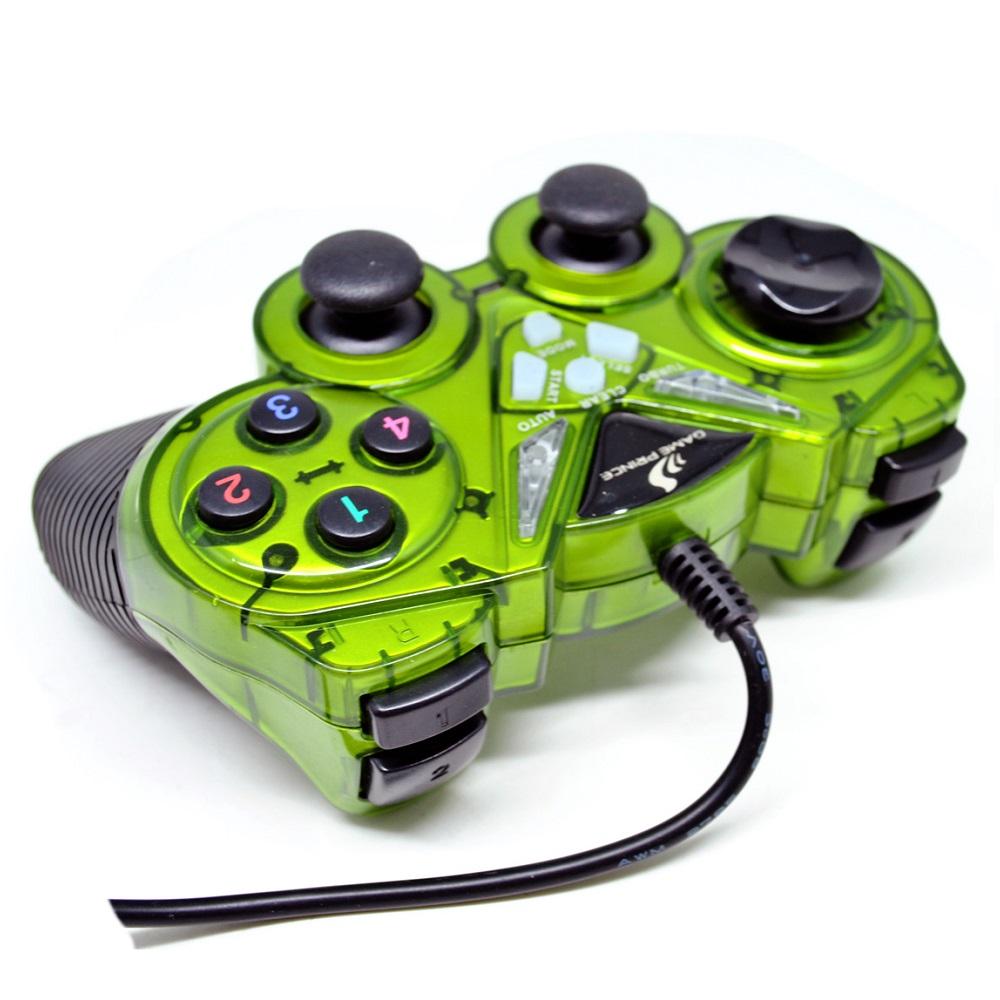 Vztec Usb Vibration Controller Pad Joystick Model Vz Double Shock Game Ga6008 Usb2 0 Dual