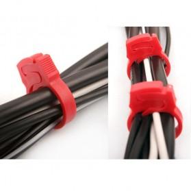 Cable Clips 6pcs - CC-901 - White - 2