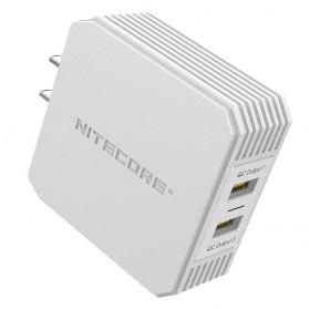 NITECORE Charger USB 2 Port 3A Quick Charge 3.0 - UA42Q - Silver - 7