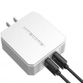 NITECORE Charger USB 2 Port 3A Quick Charge 3.0 - UA42Q - Silver - 8