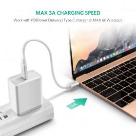 Ugreen Kabel Data USB Type C 3.1 Male to Male Multifungsi 1 Meter - White - 2