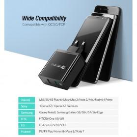 UGREEN Charger USB 2 Port QC 3.0 30W- CD132 - Black - 3