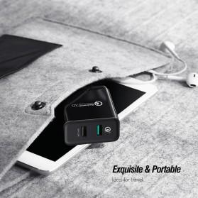UGREEN Charger USB 2 Port QC 3.0 30W- CD132 - Black - 7