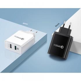 UGREEN Charger USB 2 Port QC 3.0 30W- CD132 - Black - 8