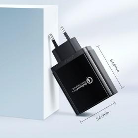 UGREEN Charger USB 2 Port QC 3.0 30W- CD132 - Black - 9
