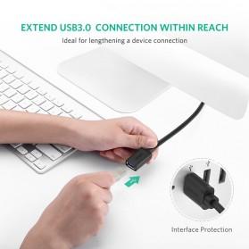 UGREEN Kabel USB 3.0 Ekstension Male to Female 1 Meter - US129 - Black - 2