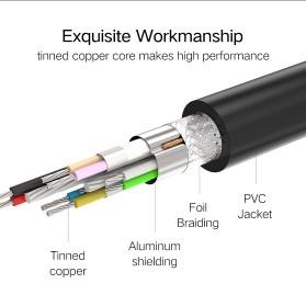 UGREEN Kabel USB 3.0 Ekstension Male to Female 1 Meter - US129 - Black - 10