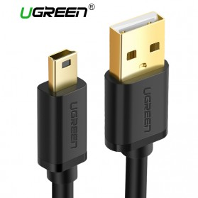 UGREEN Kabel USB Male ke Mini USB Male 1 Meter - US132 - Black