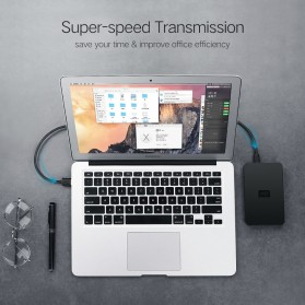 UGREEN Kabel USB Male ke Mini USB Male 1 Meter - US132 - Black - 7