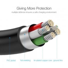 UGREEN Kabel USB Male ke Mini USB Male 1 Meter - US132 - Black - 8