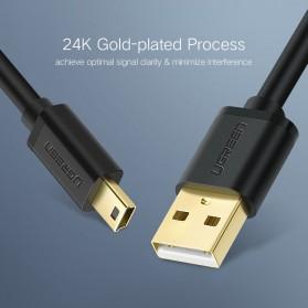 UGREEN Kabel USB Male ke Mini USB Male 1 Meter - US132 - Black - 9