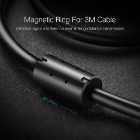 UGREEN Kabel USB Male ke Mini USB Male 1 Meter - US132 - Black - 10