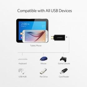 UGREEN OTG Adapter Converter Micro USB to USB - US195 - Black - 2
