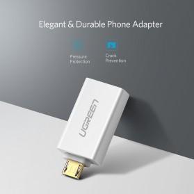 UGREEN OTG Adapter Converter Micro USB to USB - US195 - Black - 5
