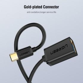 UGREEN Kabel USB Type C 3.0 OTG Round Style 13 CM - US154 - Black - 6