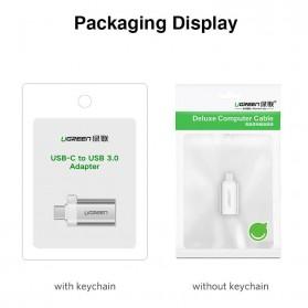 UGREEN Keychain OTG Adapter USB Type C 3.0 - US270 - Black - 4