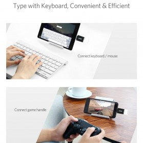 UGREEN Keychain OTG Adapter USB Type C 3.0 - US270 - Black - 7