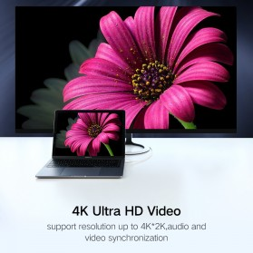 UGREEN Kabel USB Type C to Display Port 4K 1.5 Meter - MM139 - White - 3