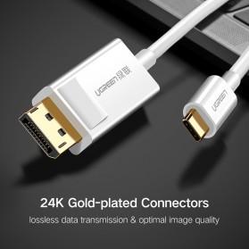 UGREEN Kabel USB Type C to Display Port 4K 1.5 Meter - MM139 - White - 7