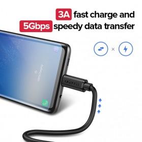 UGREEN Kabel Ekstension USB Type C Male ke USB Type C Female 50CM - ED008 - Black - 6