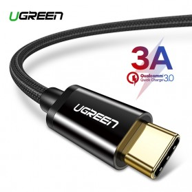 UGREEN Kabel Charger USB Type C 3A 1.5 Meter - US174 - Black