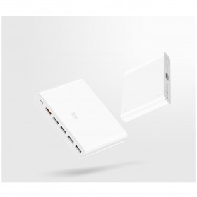 Xiaomi USB Charging Station USB Type C + Type A 6 Port QC3.0 60W - White - 5